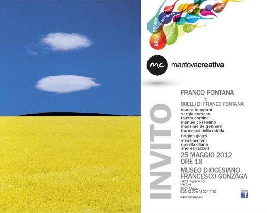 Mostra Franco Fontana e Quelli di Franco Fontana Mantova Creativa