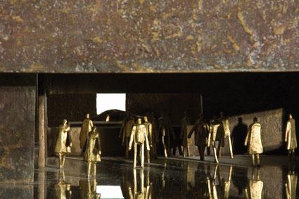 Franco Fossa scultura bronzo Particolari Ambiente 1981