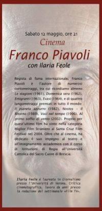 Franco Piavoli Medole (Mantova) Civica Raccolta d'Arte