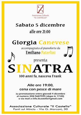 Frank Sinatra Ponti sul Mincio (MN) 2015