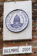 Targa Gemellaggio Mantova-Madison