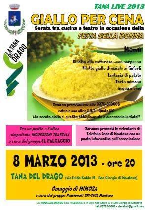 Giallo per Cena San Giorgio Mantova