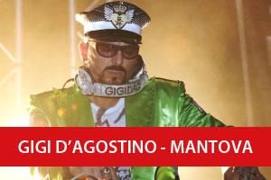 Gigi D'Agostino Mantova Palabam 2016