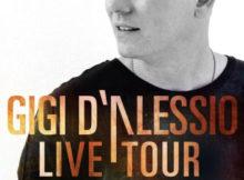 Gigi D'Alessio live tour 2017 Mantova