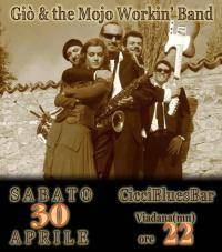 Gio and the Mojo Workin' Band, Ciccibluesbar Viadana (Mantova)
