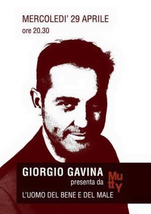 Giorgio Gavina libro L'uomo del bene e del male