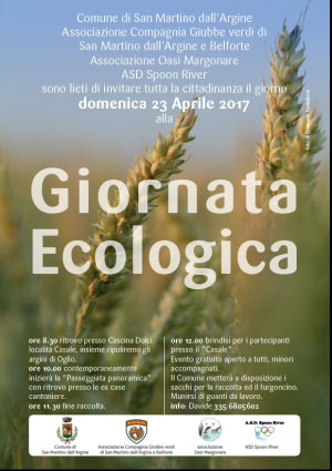 Giornata Ecologica San Martino dall'Argine (Mantova) 2017