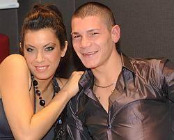 Giulia Zambelli e Domenico Valentino alla Trattoria Motta di Suzzara