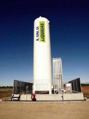Liquigas GNL Gas Naturale Liquefatto