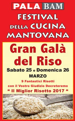 Gran Galà del Riso Mantova 2017