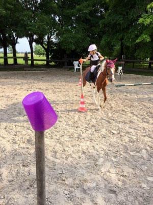 Grest a cavallo Circolo Ippico Le Campagne Sorbara di Asola MN