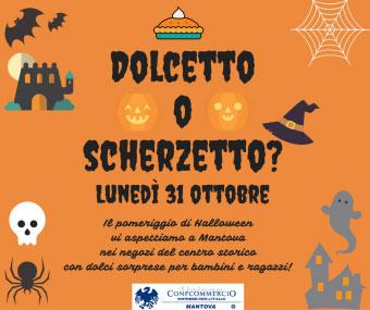 Halloween 2016 Mantova dolcetto o scherzetto