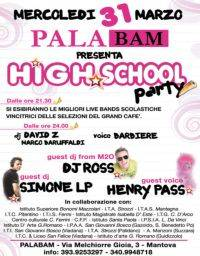 High School Party 2010 Palabam Mantova