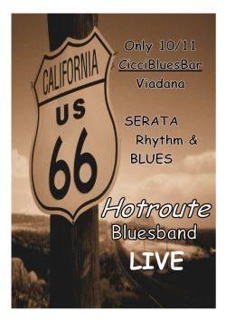 HotRoute BluesBand, concerto a Viadana (Mantova)