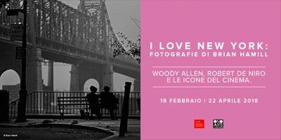 I Love New York mostra fotografie Brian Hamill Mantova 2018