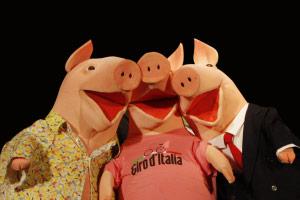 I tre porcellini al Teatro di Moglia (MN)
