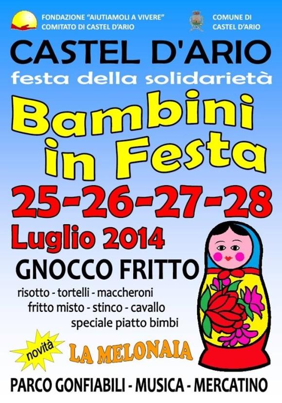 Festa della Solidarietà 2014 Castel D'Ario
