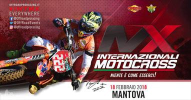 Campionati internazionali motocross mx Mantova 2018