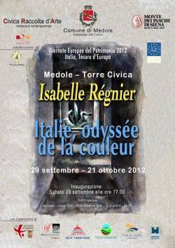 Mostra Isabelle Régnier Italie, odyssée de la couleur a Medole (Mantova)