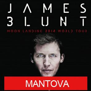 Concerto James Blunt Mantova 22/07/2014