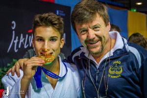 Judo Alessio Baldasseroni medaglia oro