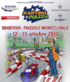 Karting in Piazza, corsi educazione stradale bambini Mantova 2017