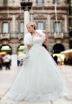 Ksenia Zaynak abito matrimonio