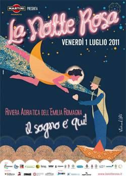 La Notte Rosa 2011 Rimini e Riviera Romagnola