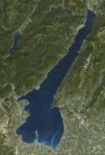 Lago di Garda (visto dal satellite)