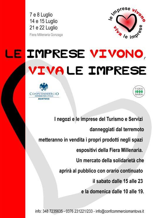 Le Imprese Vivono, Viva Le Imprese 2012 Fiera Gonzaga (Mantova)