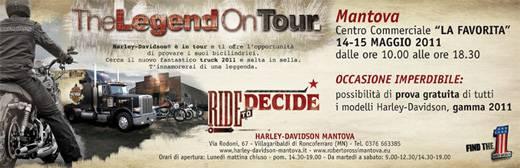 The Legend on Tour 2011 Mantova Harley Davidson