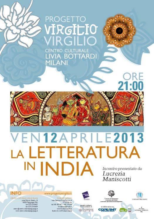Letteratura in India a Pegognaga (Mantova)