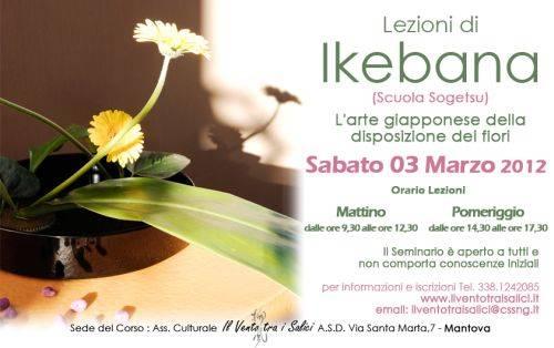 Lezioni Ikebana Mantova