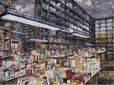 Libreria, opera Massimo Giannoni