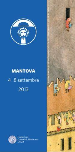 copertina libretto Festivaletteratura 2013 Mantova