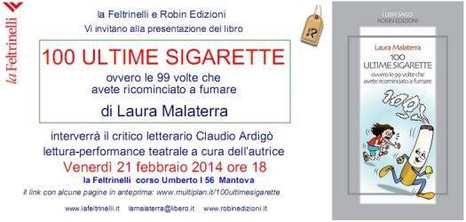 100 Ultime Sigarette Libro La Feltrinelli Mantova