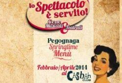 Lo spettacolo è servito Arci Casbah Pegognaga (MN)
