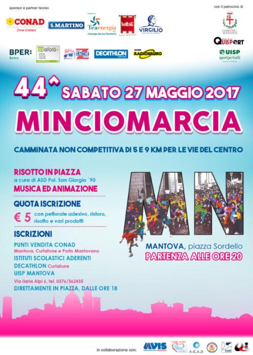locandina Mincio Marcia Mantova 2017