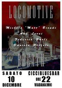 Locomotive Breath live al CicciBluesBar di Viadana (Mantova)
