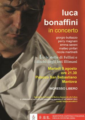 Luca Bonaffini concerto Mantova 2016