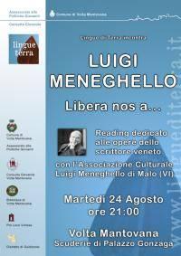 Lingue di Terra: omaggio a Luigi Meneghello