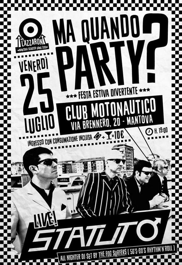 Ma Quando Party 2014 Mantova
