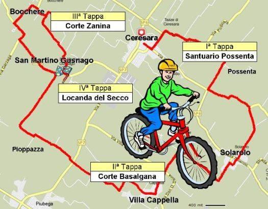 Biciclettata delle Torri Mangialonga in Bicicletta Ceresara (Mantova)