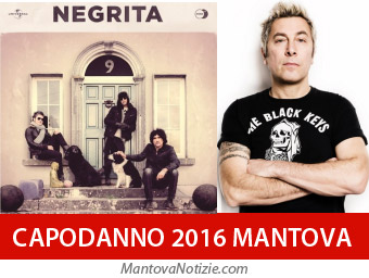 Mantova Capodanno 2016 Negrita e DJ Ringo