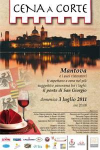 Mantova Cena a Corte 2011 - Cena sul Ponte di San Giorgio