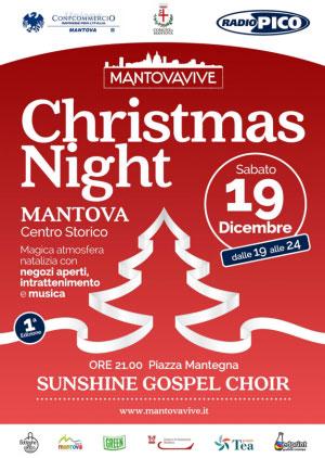 Mantova Christmas Night 2015