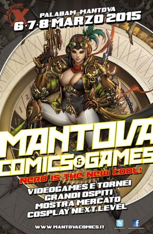 Mantova Comics and Games 2015 foto locandina