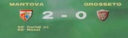 Serie B, Giornata 8: Mantova-Grosseto 2-0