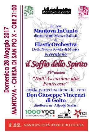 Mantova In Canto Il Soffio dello Spirito 2017