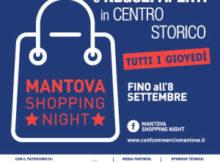 Mantova Shopping Night giovedì 2016